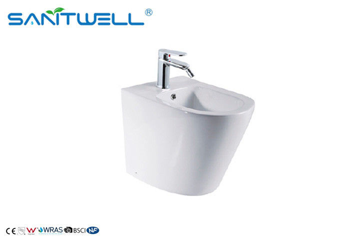 Lady Bathroom Back To Wall Bidet Sanitary Ware Ceramic  Material 545*360*390mm